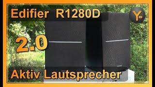 Review: Edifier Studio 2.0 Aktiv-Lautsprecher R1280DB | Bluetooth, Digital & Analog Audio