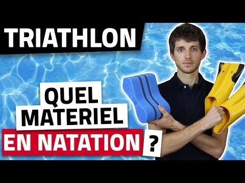 MATERIEL de NATATION   Les 5 EQUIPEMENTS de base pour l'entrainement en TRIATHLON