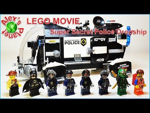 Vidéo LEGO The LEGO Movie 70815 : Le super vaisseau de la police secrète