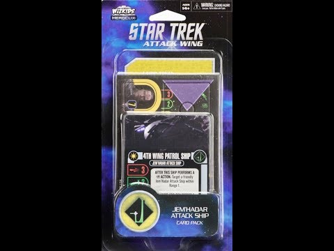 Jem'Hadar Attack Ship Card Pack