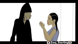 Alkaline Block & Delete. [Jamaican Cartoon]