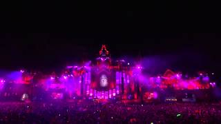 """Jack Ü  - """"Where Are Ü Now"""" With Justin Bieber (W&W Vs Dimitri Vegas And Like Mike Remix ) Live"""