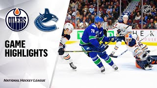 09/19/19 Condensed Game: Canucks @ Oilers