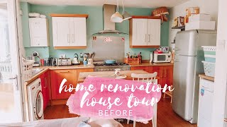 HOUSE TOUR - BEFORE RENOVATION & TWO STOREY EXTENSION - RENOVATION DIARY #1