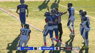 Highlights: Waterford 40, Bacon Academy 14