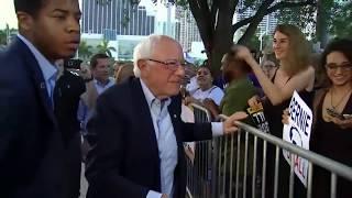 Democratic Debate: Bernie Sanders Meets With Supporters Before 1st Night | NBC New York