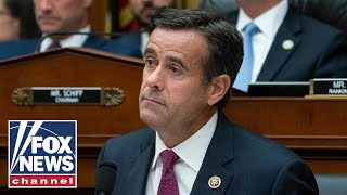 John Ratcliffe public confirmation hearing as Director of National Intelligence