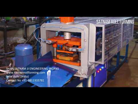 Automatic Roll Forming Machine PLC Control With Touch Display
