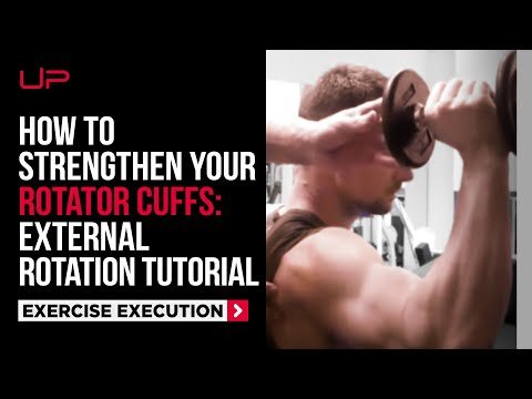 Gym Tutorial: External Rotation for Rotator Cuff
