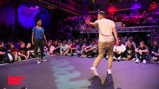 Waydi vs Oumoo 1ST ROUND BATTLES Hiphop Forever - Summer Dance Forever 2015