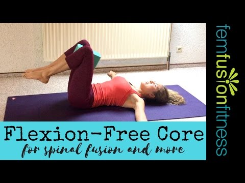 Core Exercises for Spinal Fusion (and more!) | FemFusion Fitness