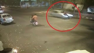 Terrifying road accident caught on tape(WARNING very graphic)