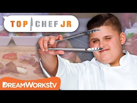 Quick Fire Challenge: Fry Fail | TOP CHEF JR.