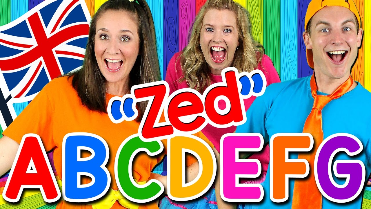 Alphabet Song - ABC Song UK ZED Version! Learn the Alphabet