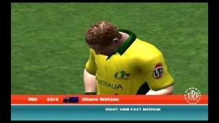 India vs Australia: Ea Sports Cricket 2007 Knockout Cup Semifinal - Part 1