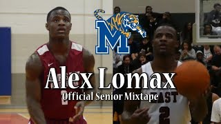 University of Memphis NEW PG Alex Lomax | Official Senior Mixtape