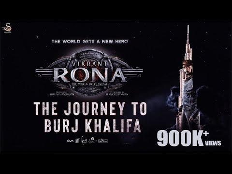 Vikrant Rona on Burj Khalifa - Making Video