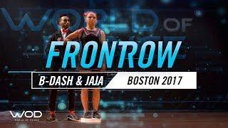 B-Dash & Jaja Vankova   FrontRow   World of Dance Boston 2017   #WODBOS17