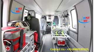 Hifly ICU Air Ambulance Services from Pune to Mumbai At a Low-Cost