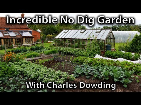 Huw Visits Charles Dowding's Productive No Dig Garden