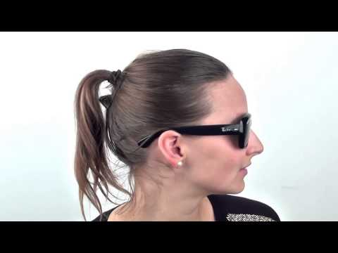 06f459e6fc5 Ray Ban Jackie Ohh RB4101 710 T5 (havana brown gradient polarized) Video