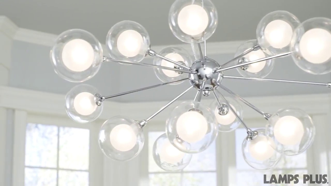 Chandelier Height 10 Foot Ceiling Possini Euro Spheres 30