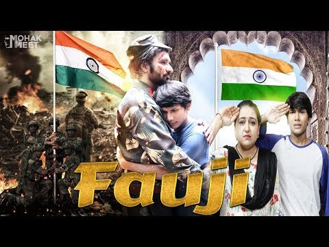 FAUJI : INDIAN ARMY SHORT FILM | ARTICLE 370 | INDEPENDENCE DAY SPECIAL || MOHAK MEET || SWATI