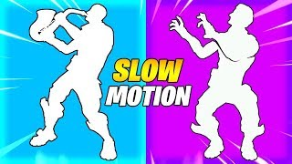 12 Fortnite Dances That SOUND BETTER In SLOW MOTION..!!