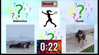 Guess Who Fitness Game Sports Edition   PE at Home   Kids workout