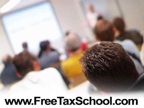 FREE Online Tax Courses - Tax Training - YouTube