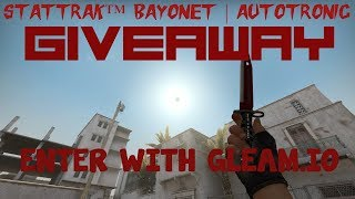 StatTrak™ Bayonet | Autotronic GIVEAWAY (MERRY CHRISTMAS TOO) - Video Youtube