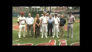 Bob Feller Act of Valor Award, Progressive Field, July 4 2013