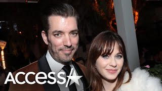 Zooey Deschanel & Jonathan Scott Beg People To Stay Home While Quarantined Together