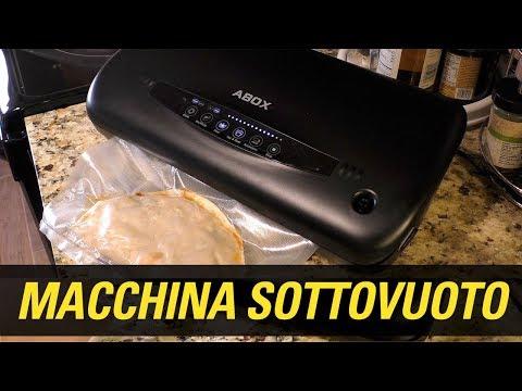 MACCHINA SOTTOVUOTO ABOX Recensione AMAZON