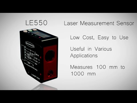 LE550 Laser Measurement Sensor
