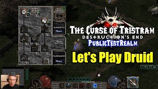 [The Curse of Tristram] Let's Play Druid / First Hour (SC2 PTR)