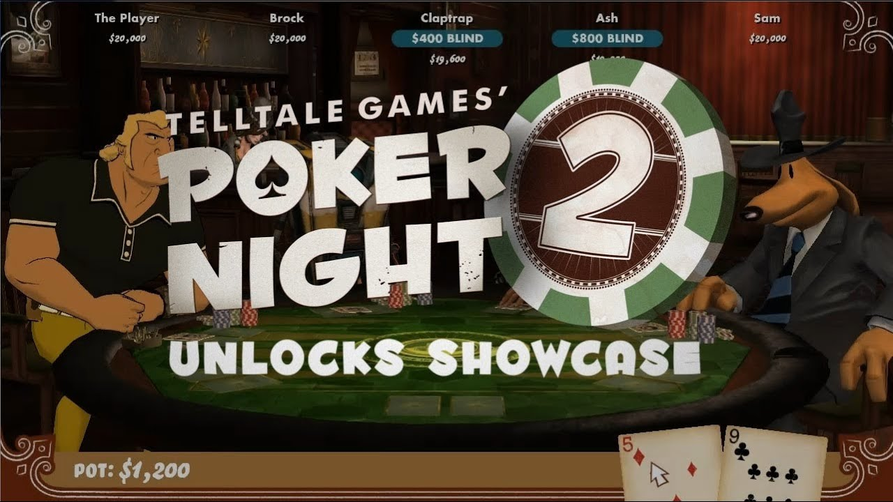 Poker Night's Platform Unlockables Are OK — Except For The PS3's