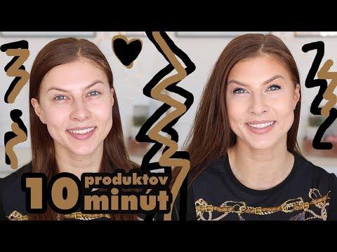 Moja každodenná 10 minútová makeup rutina