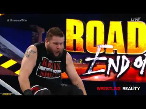 WWE Roadblock End Of The Line 2016 roman reigns vs kevin owens Highlights HD