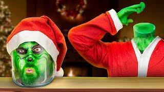 12 новогодних фокусов и пранков с Гринчем!