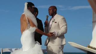 ROMANTIC BEACH WEDDING| JAMAICA