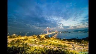 《香港之暮》系列 之 四:日落青馬 // Timelapse 縮時攝影 // 城市攝影 // 香港 青馬大橋