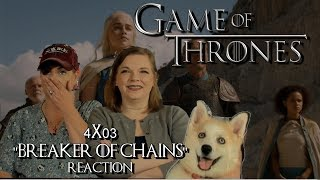 """Game Of Thrones 4x03 """"Breaker Of Chains"""" Reaction"""