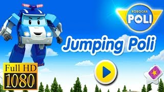 Jumping Robocar Poli Game Review 1080P Official Cotton Interactive Education 2016
