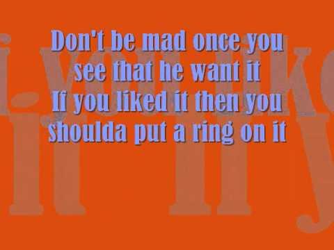Beyoncè - Single Ladies (Put a Ring on It) lyrics