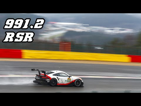 20 min. of PORSCHE 991.2 RSR - RAW sounds (revving, fly-by's & downshifts)