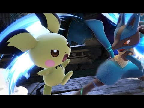 High Level Pichu Gameplay in Smash Ultimate
