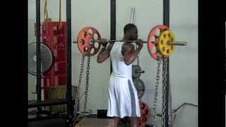 D-1 Receiver Training Lower Body