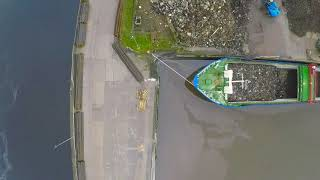MV Naos @ Limerick Dock