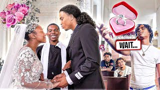 I MARRIED MY SISTER TO HER BOYFRIEND! *Her Ex Showed Up*